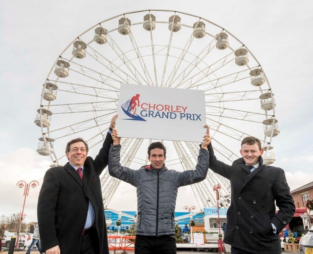 Launch of the Big Wheel in Chorley and promotion of the Chorley Grand Prix