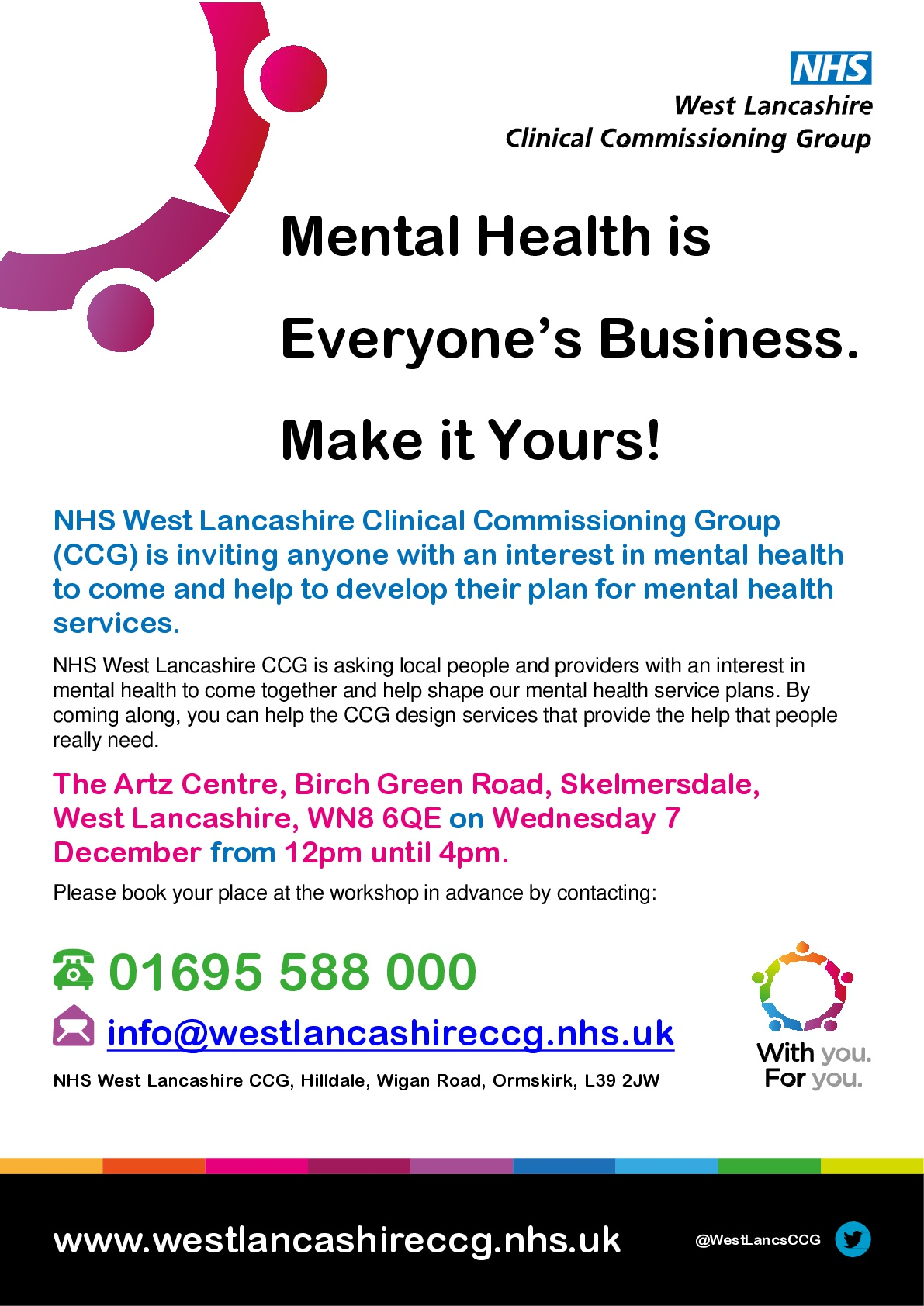 Help Your Local Nhs To Shape Mental Health Services In