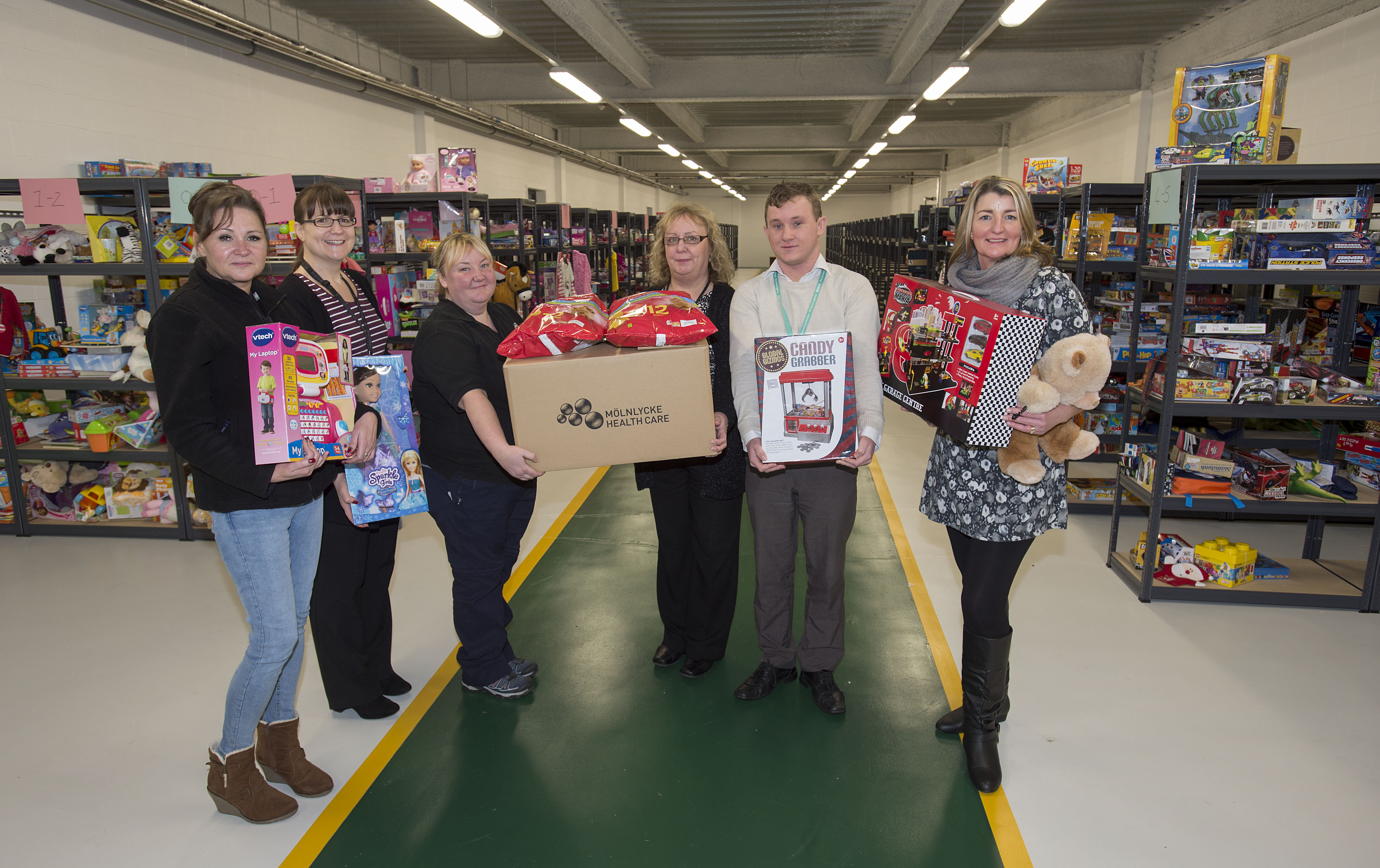 Thousands of presents donated to council\'s Christmas gift appeal ...