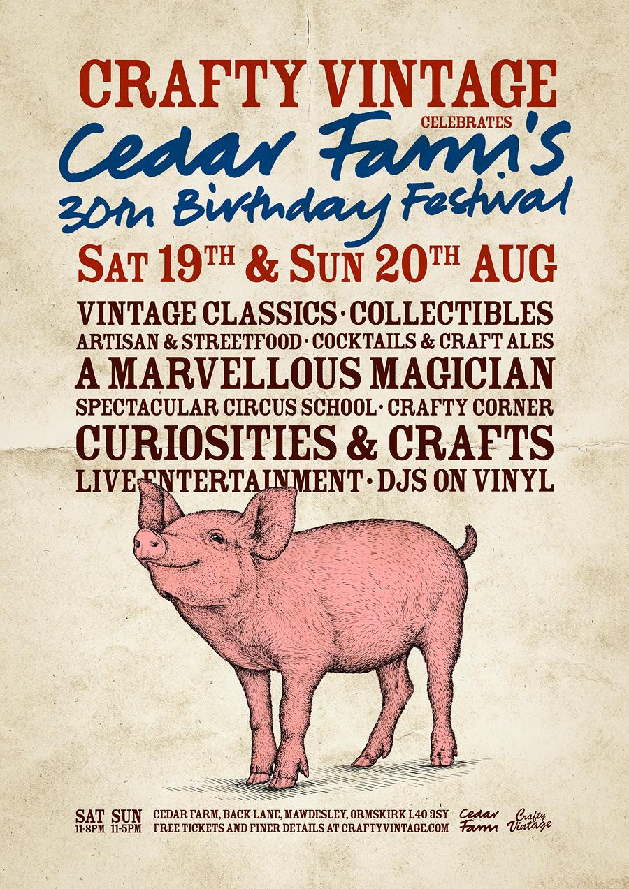 , Crafty Vintage celebrating Cedar Farms 30th birthday, Skem News - The Top Source for Skelmersdale News