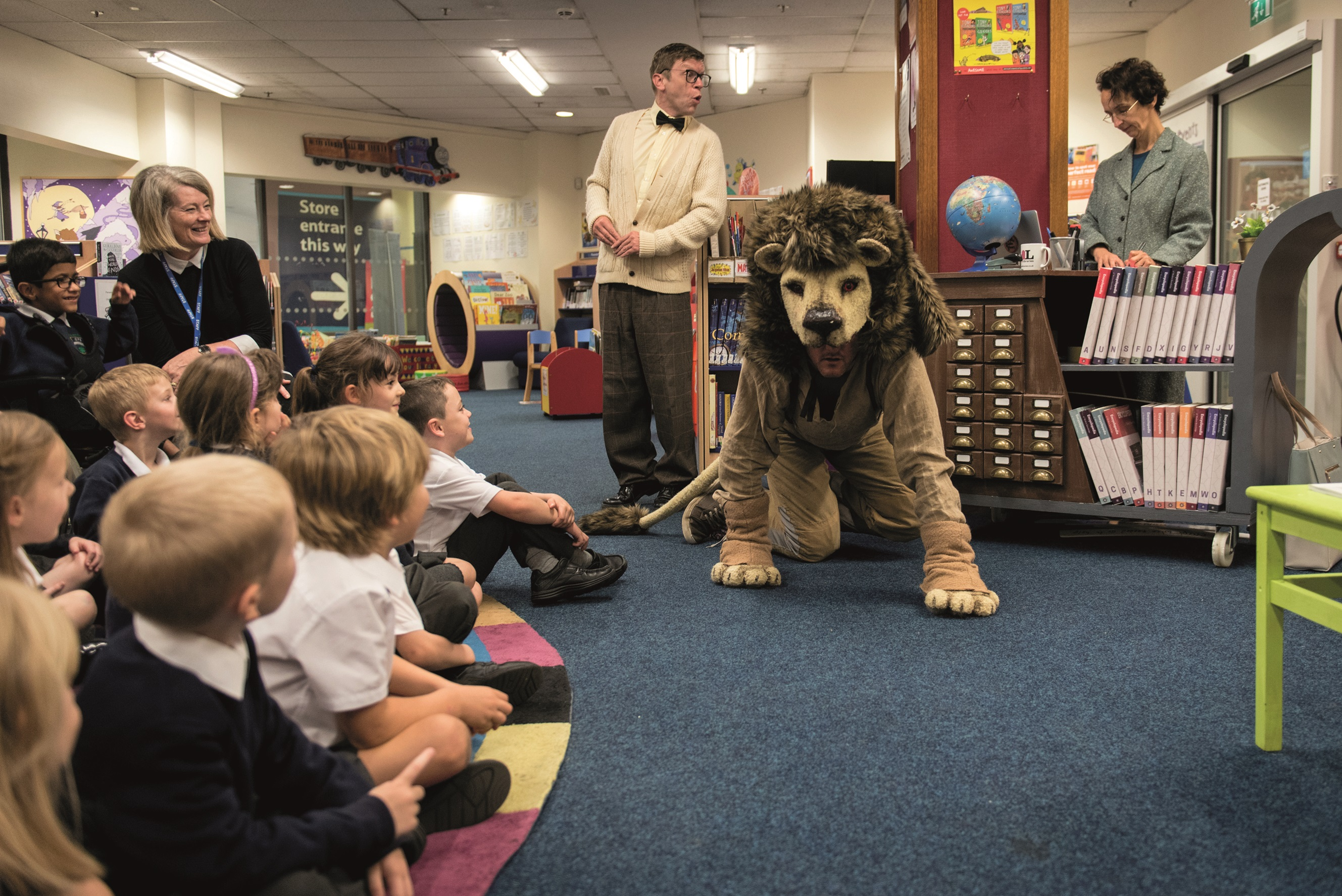 , Library Lion roars into St Helens libraries this half-term week, Skem News - The Top Source for Skelmersdale News