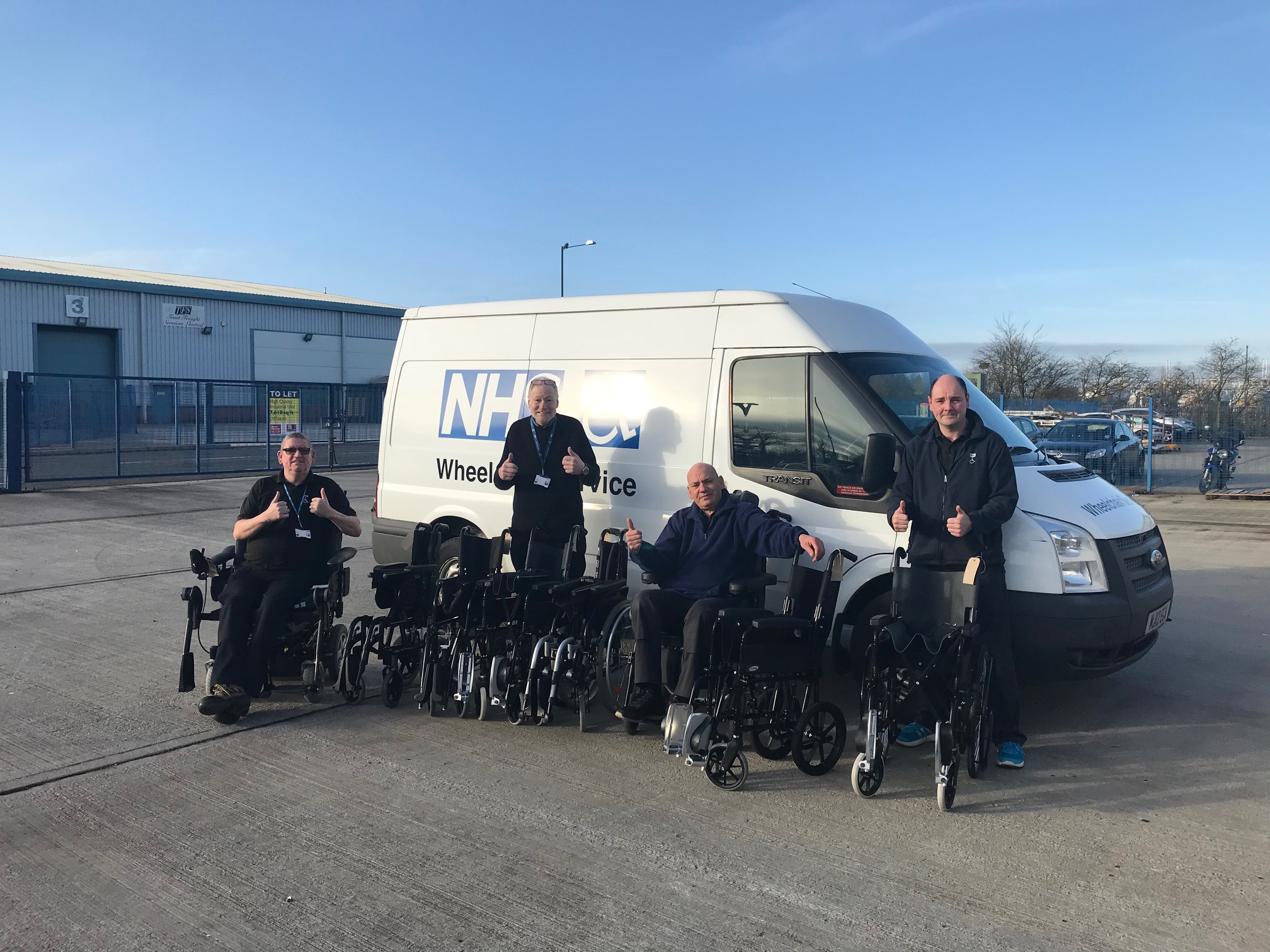 , Wheelchairs are rolling in twice as fast as last year!, Skem News - The Top Source for Skelmersdale News