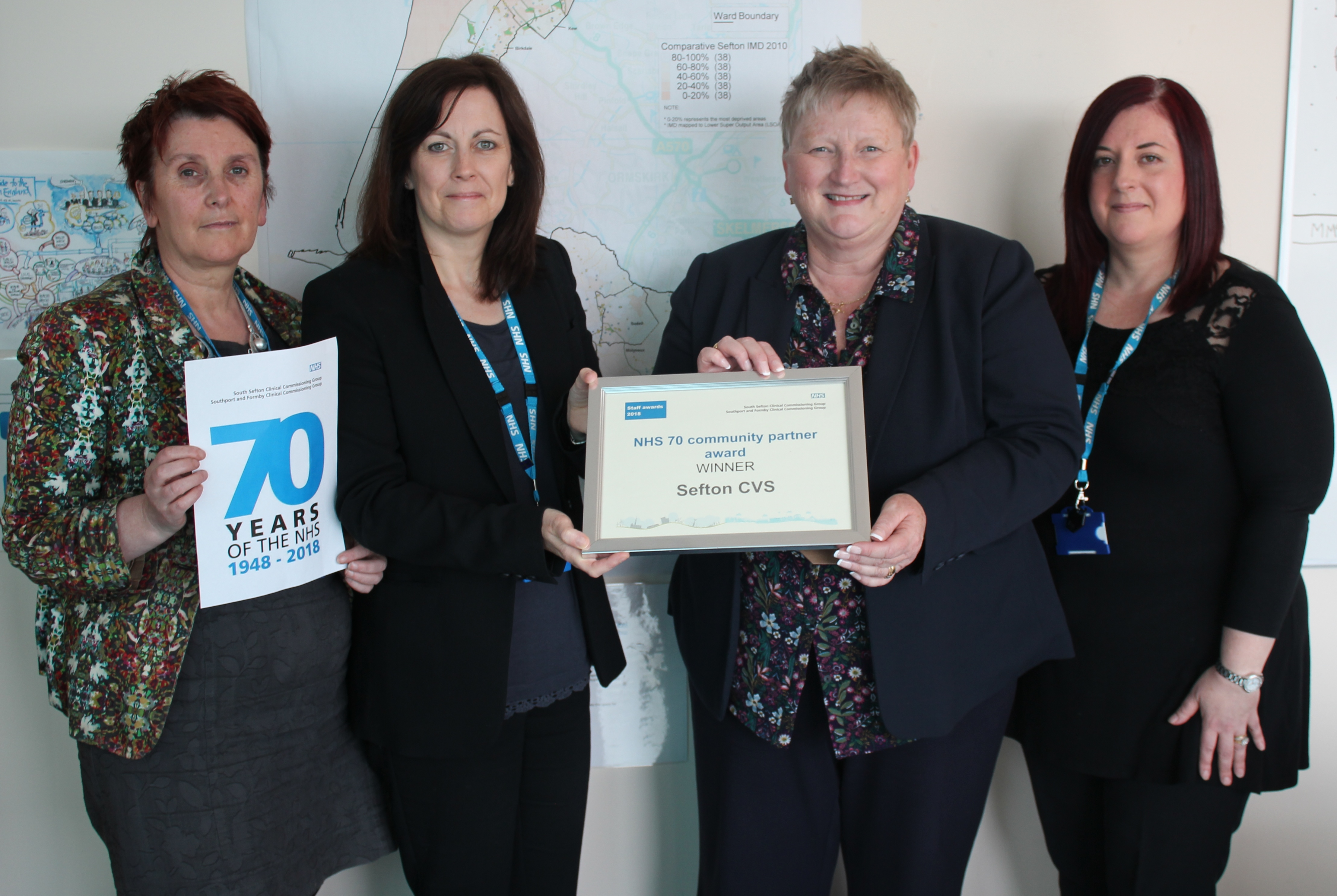 sefton cvs recognised for contribution to the nhs skem news