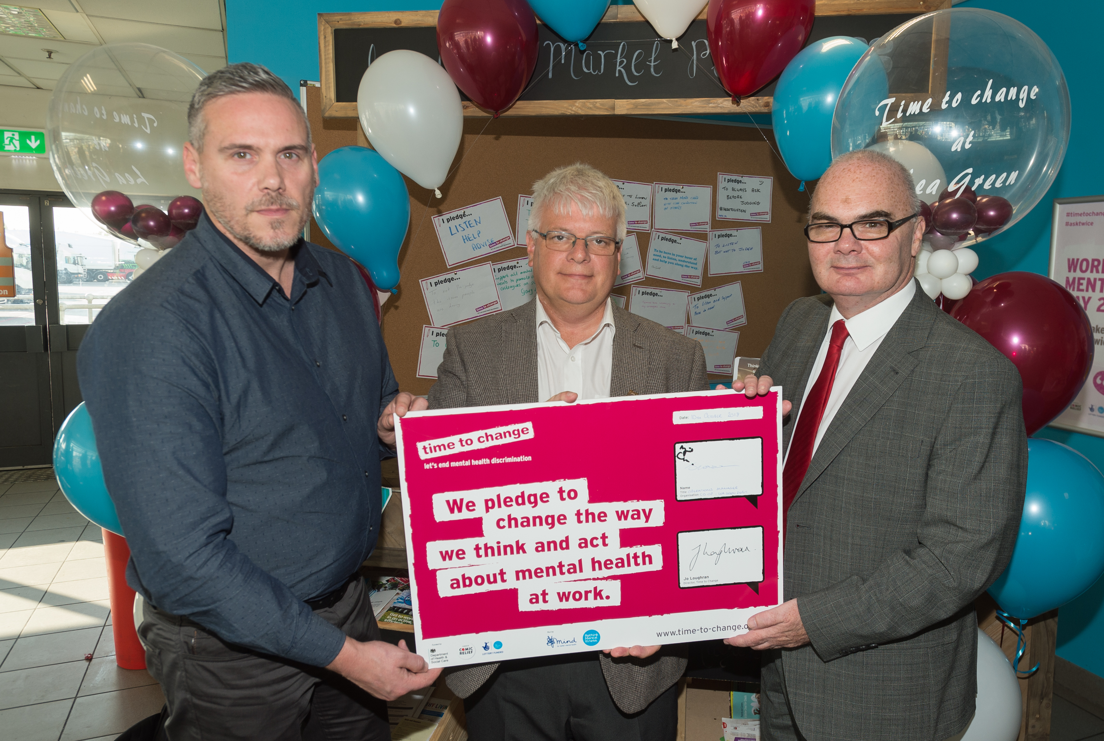 , Business marks World Mental Health Day by signing 'Time to Change' pledge, Skem News - The Top Source for Skelmersdale News