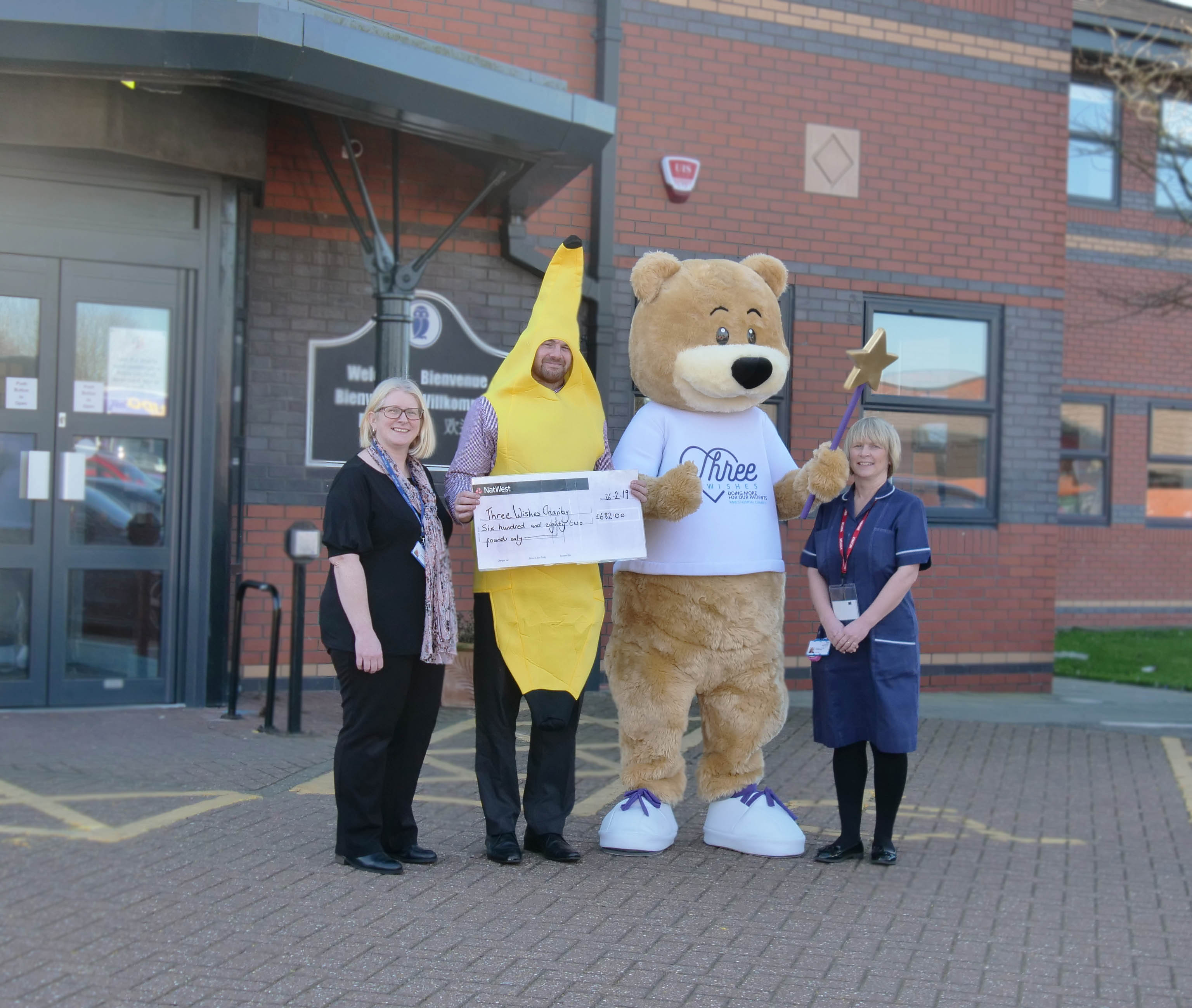 , Banana boost for Three Wishes, Skem News - The Top Source for Skelmersdale News