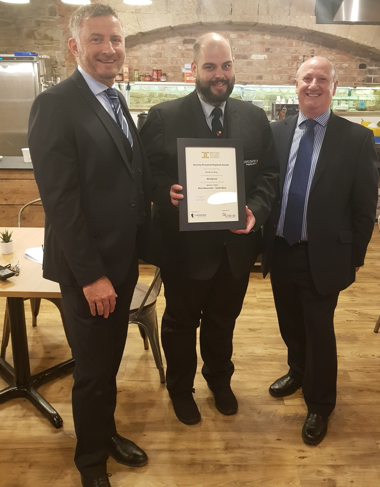 , Concourse Shopping Centre security officer up for national award, Skem News - The Top Source for Skelmersdale News