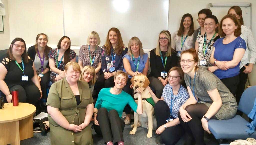 , Community therapy team's special visitor, Skem News - The Top Source for Skelmersdale News, Skem News - The Top Source for Skelmersdale News