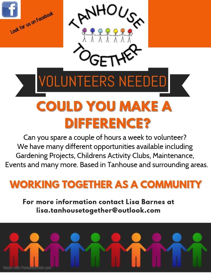 , Tanhouse Together looking for volunteers, Skem News - The Top Source for Skelmersdale News