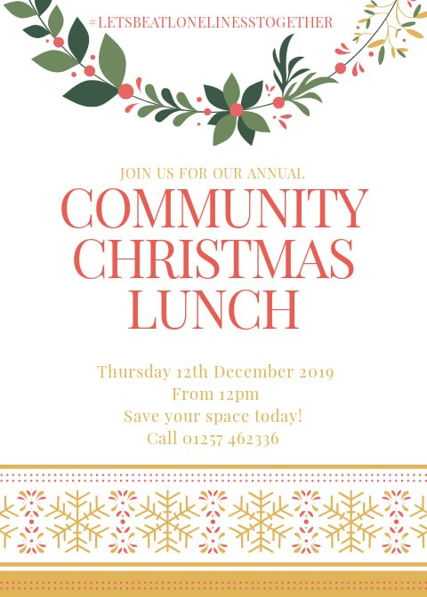 , Red Lion Hotel Community Christmas Lunch, Skem News - The Top Source for Skelmersdale News