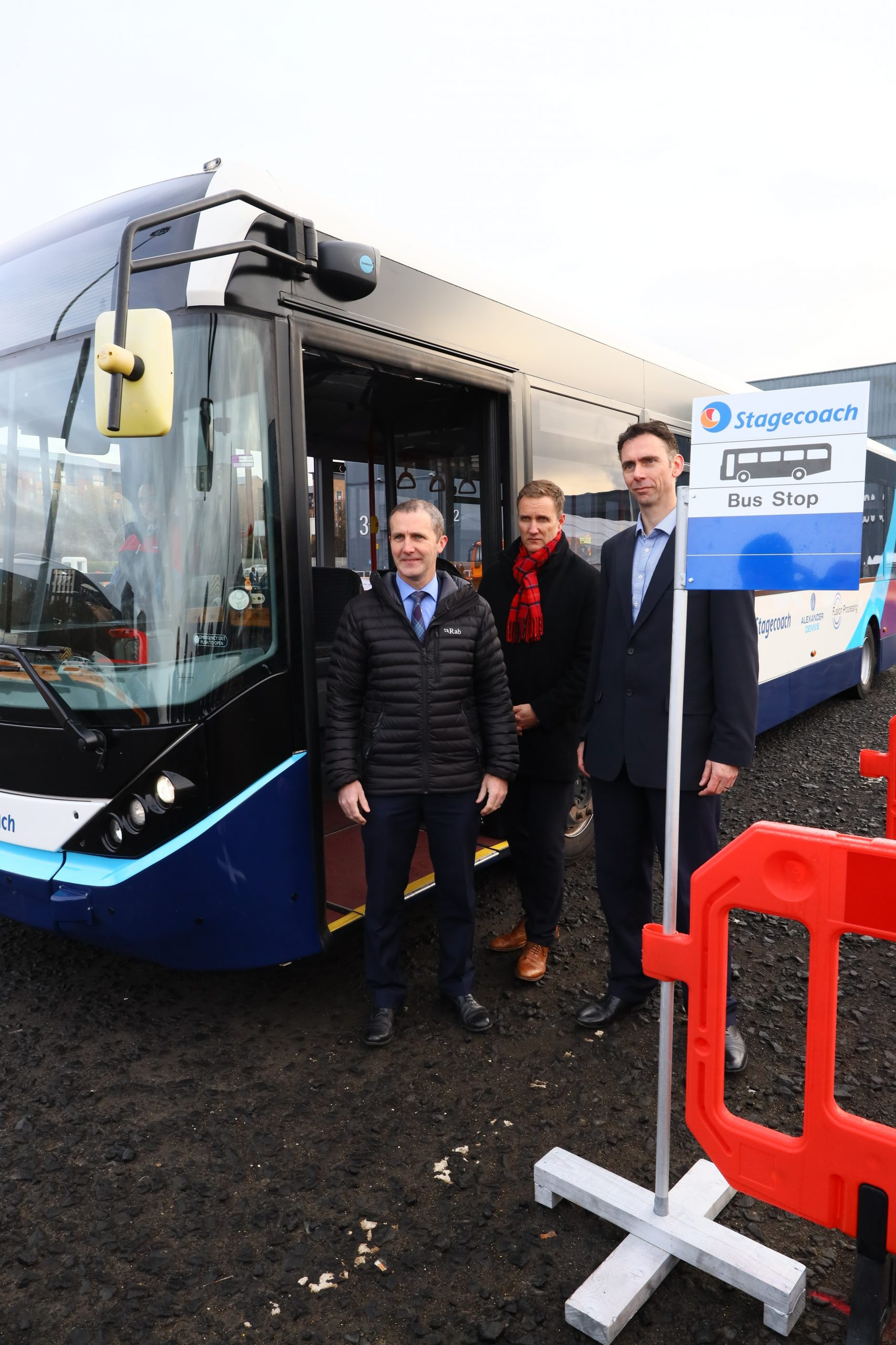 , Scotland sees first demonstration of Europe's first full-sized autonomous bus, Skem News - The Top Source for Skelmersdale News