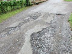 pothole damage road