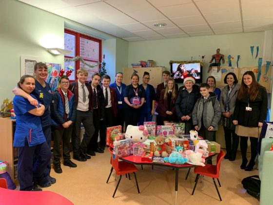 rainford, Rainford High donates toys and food for those in need at Christmas, Skem News - The Top Source for Skelmersdale News