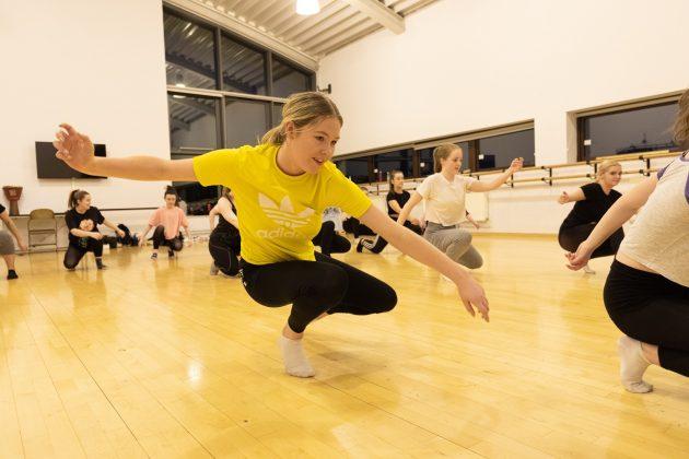 dancers, Professional dancers and alumni inspire students through psychological thriller, Skem News - The Top Source for Skelmersdale News
