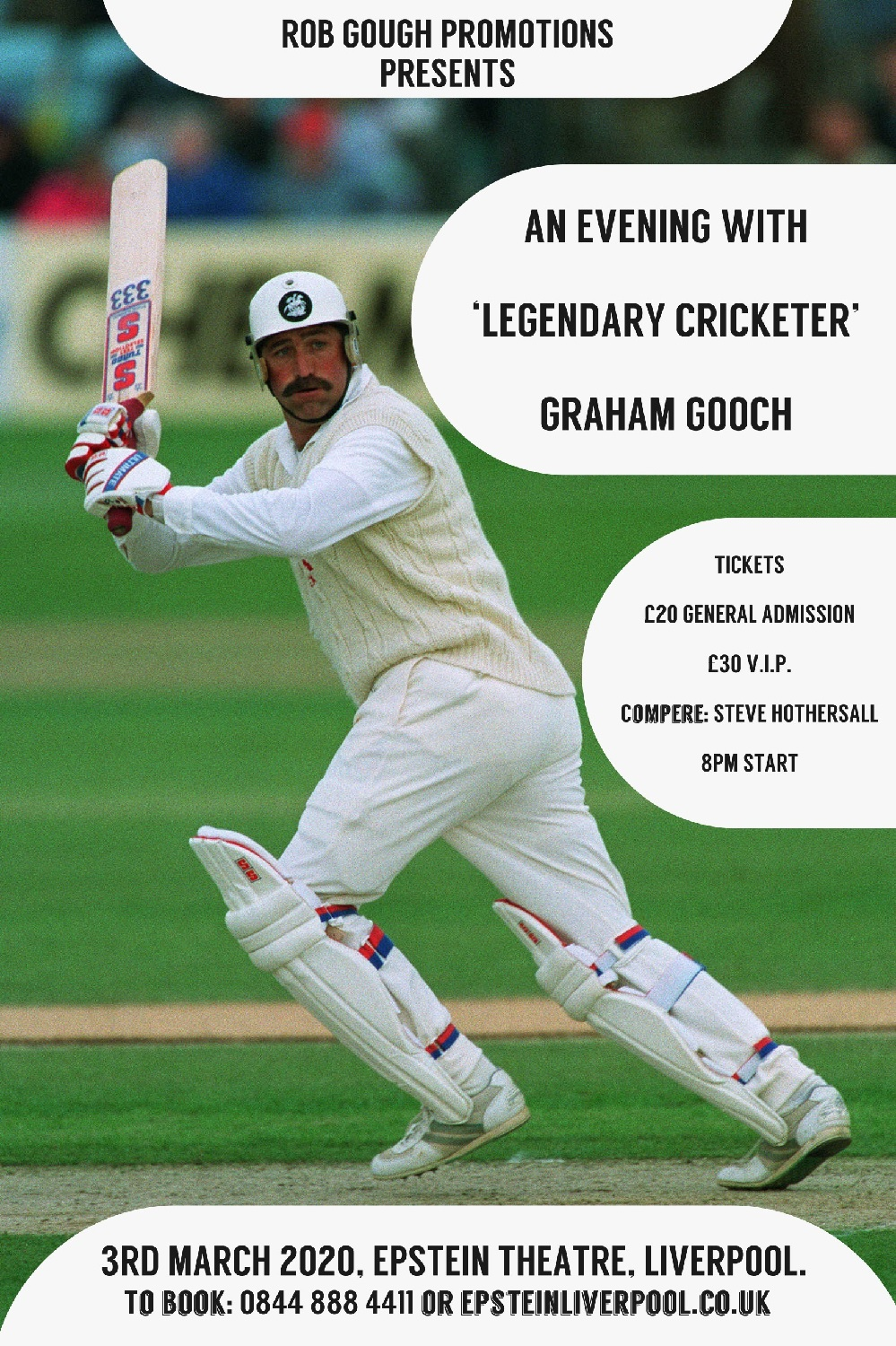gooch, Spend the evening with cricketing legend Graham Gooch OBE, Skem News - The Top Source for Skelmersdale News