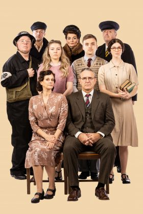 cas, Photo flash: First glimpse of the full cast of Helen Forrester's By The Waters Of Liverpool in costume, Skem News - The Top Source for Skelmersdale News