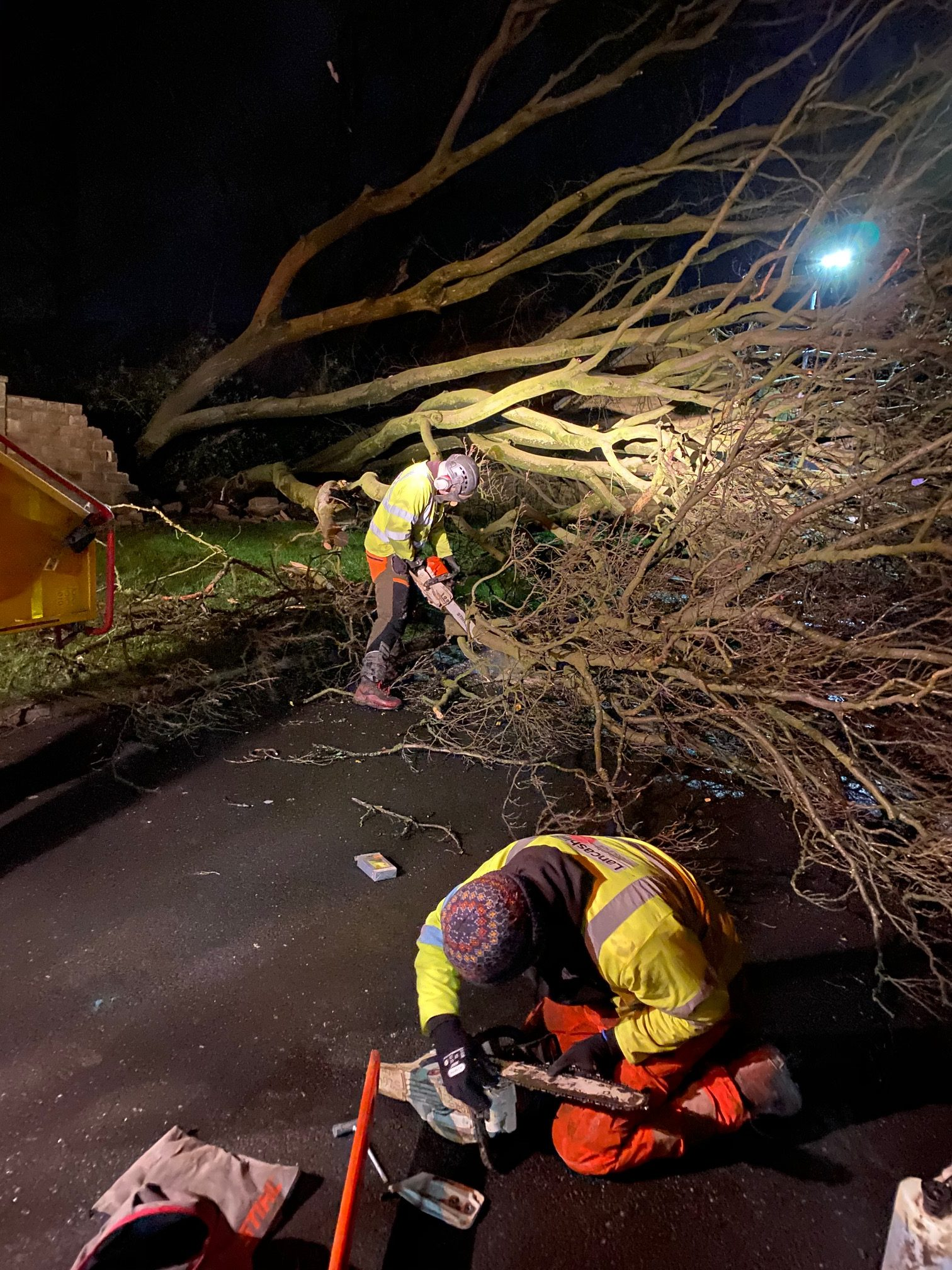 dennis, Big community effort helps to minimise impact of Storm Dennis, Skem News - The Top Source for Skelmersdale News, Skem News - The Top Source for Skelmersdale News