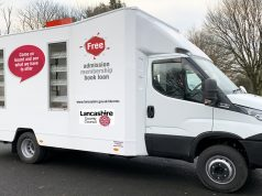mobile library lancashire