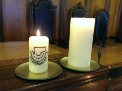 RoadPeace candle