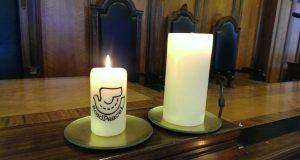 RoadPeace candle