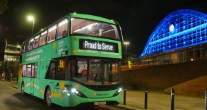 electric bus manchester