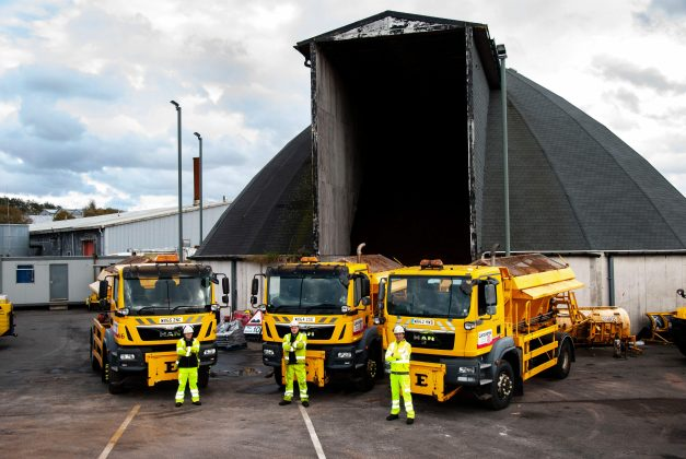 sleet and snow, Gritters in action as sleet and snow forecast, Skem News - The Top Source for Skelmersdale News