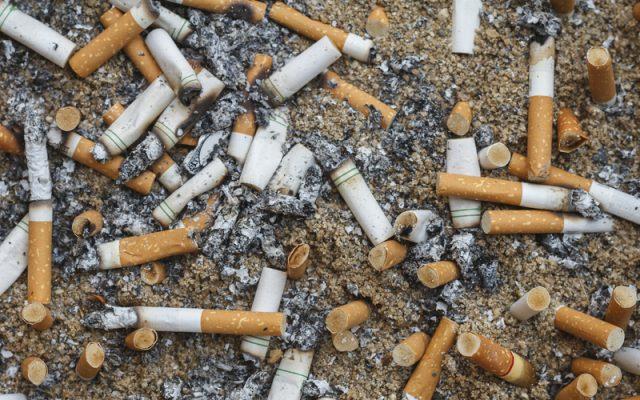 tobacco rubbish