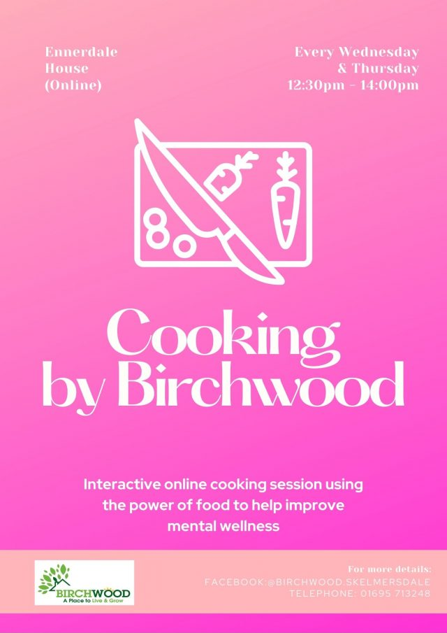 cooking by birchwood