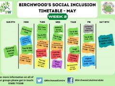 birchwood week 2 may