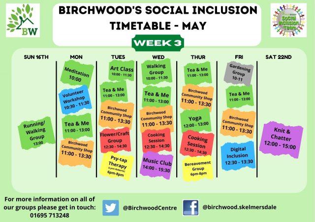 birchwood may week 3