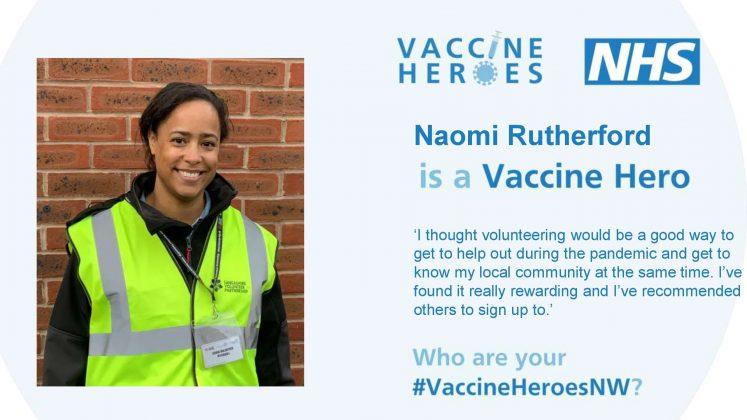 Naomi Rutherford - Vaccine Hero
