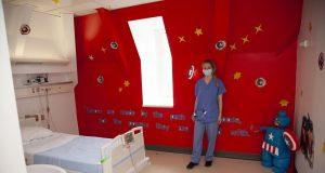 Emily Sharrock-Peplow, Play Support Worker, in Layton Robinson-Bancroft Room