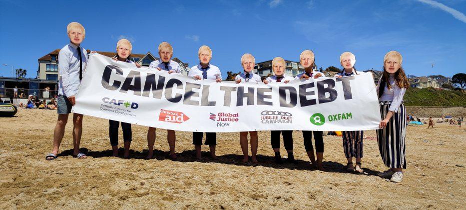 G7 2021 Cornwall campaigning - Liam Finn CAFOD-19
