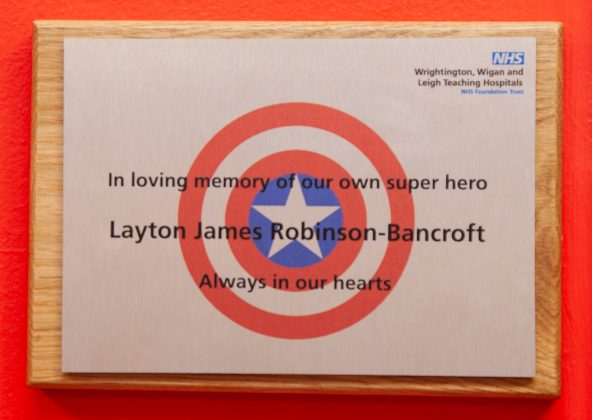 Layton Robinson-Bancroft, Room Plaque