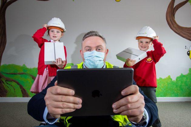 school children, School children double iPad power thanks to Tawd Valley Developments, Skem News - The Top Source for Skelmersdale News