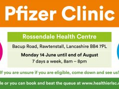 Pfizer Clinic Rawtenstall