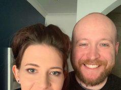 Sally McCreith with her husband