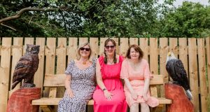 Margaret Long, Adele Henshaw and Esther Parry