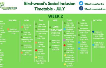 birchwood timetable