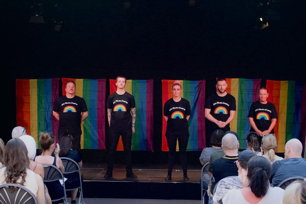 Little LTF Rainbow Monologues Picture by David Munn Photography