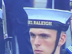 Dylan Leigh Davies HMS Raleigh