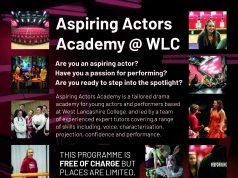 west lancs college aspiring actors