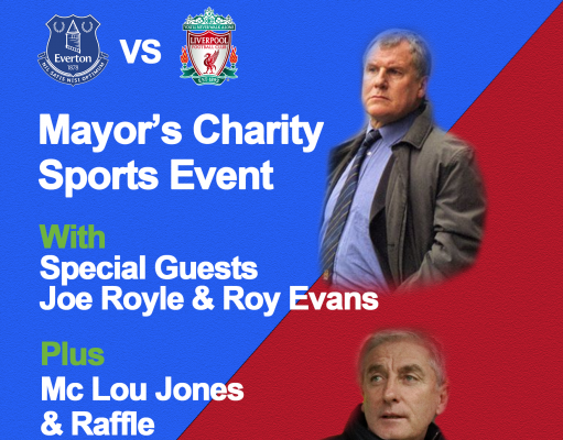 mayor's charity sports event