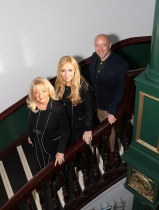Jane Joseph, Chantelle Nolan and Bill Elms