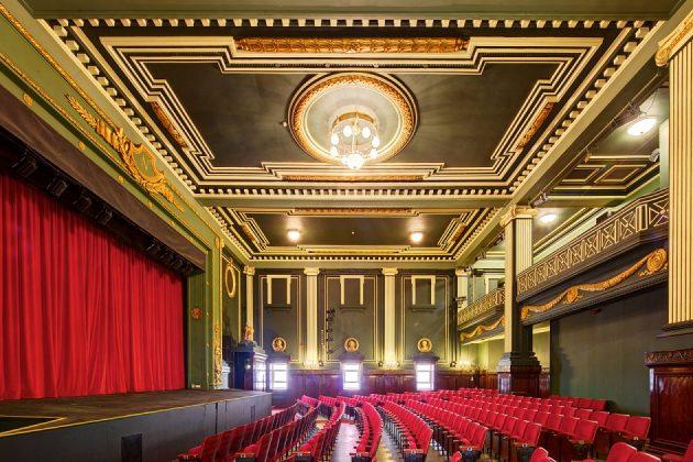 The Epstein Theatre auditorium