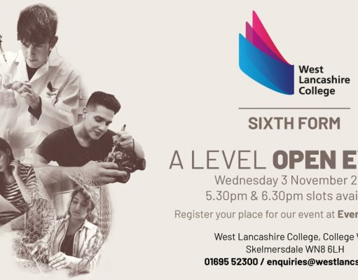 west lancs college open day